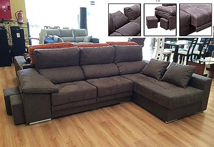 MUEBLES MATO - Sofa cheslong max dcho: Amazon.es: Hogar