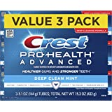 Crest Pro Health Advanced Deep Clean Toothpaste, Mint, 5.1 Ounce, 3 Count