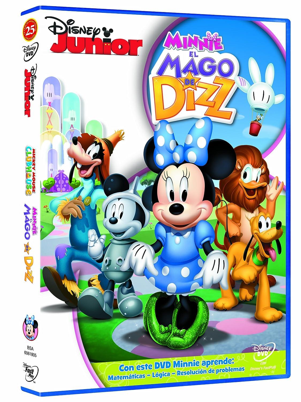 El DVD de Minnie y el Mago de Dizz