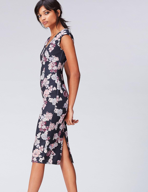find Marque Robe Midi Moulante /à Fleurs Femme