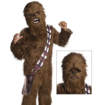 Rubie's Star Wars Classic Child's Chewbacca Movable Jaw Mask: Toys & Games