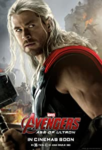 Avengers: Age of Ultron, THOR (2015) Movie Poster 24x36 , Glossy Finish (Thick): Iron Man, Black Widow, Thor, Captain America