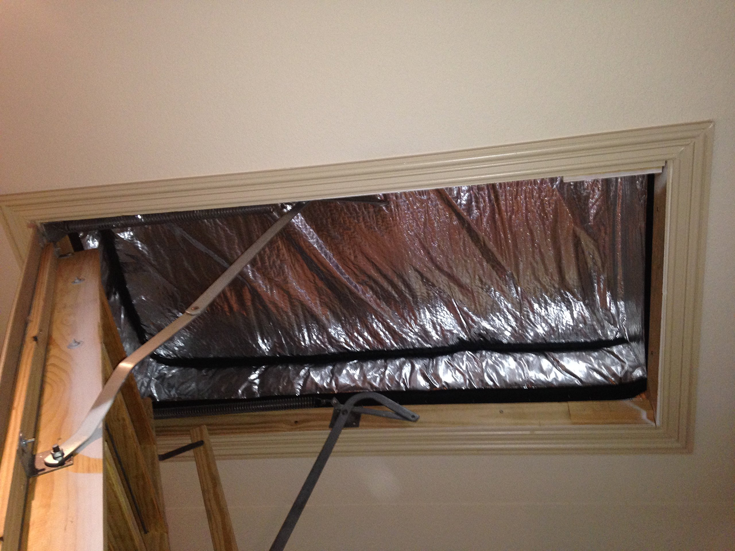 Hatchway Attic Stair Cover with Arma Foil Radiant Barrier by Arma Foil Attic Covers (Image #1)