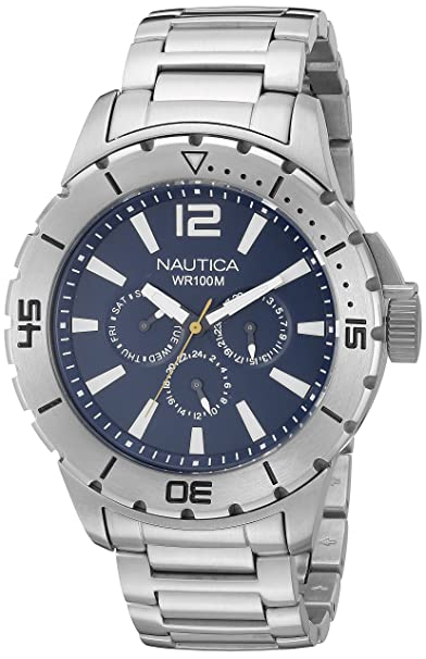 NAUTICA Analog Blue Dial Men's Watch - N19568G Watches at amazon