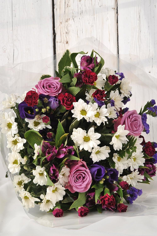 Sympathy bereavement or condolence flowers delivered lilac sympathy bereavement or condolence flowers delivered lilac purple white fresh flower bouquet free uk next mightylinksfo