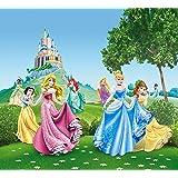 AG Design FCS xl 4319 - Tende per camera bambini, motivo principesse Disney