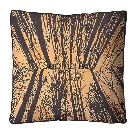 Locust árbol de la vida Hiippie gran almohada de suelo ...