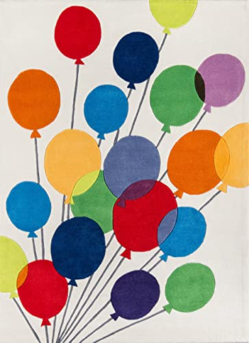 Momeni Lil Mo Whimsy 8 X 10 Rug in Balloons