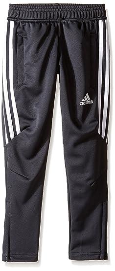 bc482fae adidas Youth Soccer Tiro 17 Pants, X-Small - Dark Grey/White/