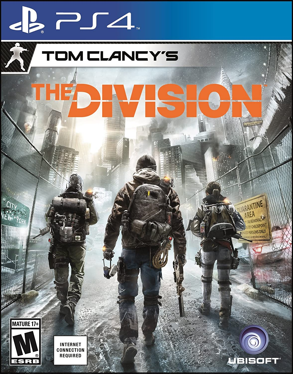 Amazon com: Tom Clancy's The Division - PlayStation 4