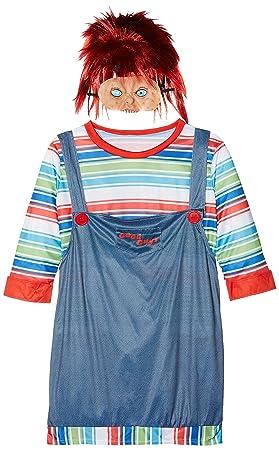 Smiffys - Disfraz de chucky para mujer, talla XL (39099X1)