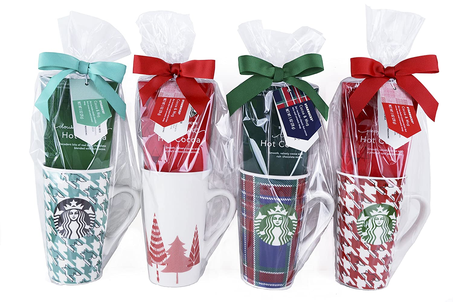 Starbucks Limited Edition Christmas Holiday Mug With Hot Cocoa Gift (Pack of 1)