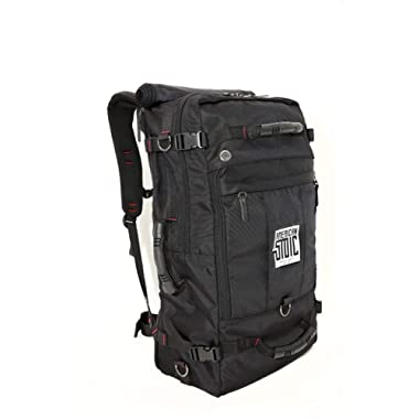 American Stoic TSA Approved Travel Backpack Carry On - Duffel Bags For Men Women - 50L