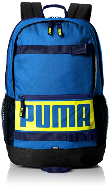66555cbab7 Image Unavailable. Image not available for. Colour  Puma 24 Ltrs Lapis Blue  Laptop Backpack ...
