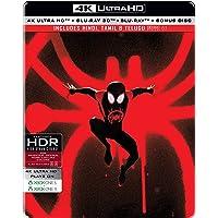 Spider-Man: Into the Spider-Verse (Steelbook) (4K UHD + Blu-ray 3D + Blu-ray + Blu-ray Bonus Disc)