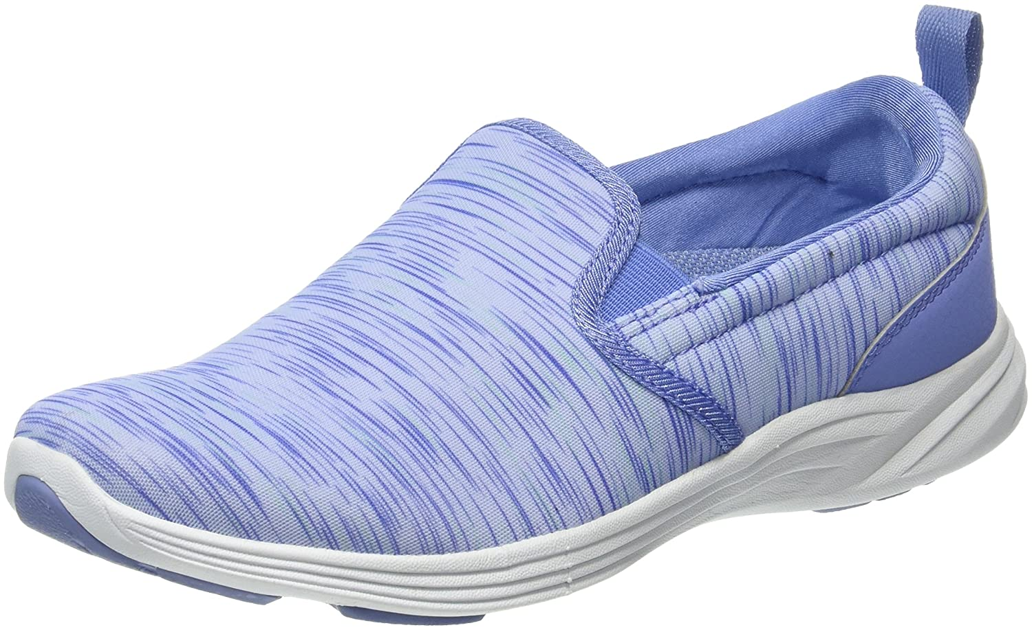 Vionic Women's Kea Wide Slip-On Sneakers in Light Blue B071K16JPH 6 C/D US
