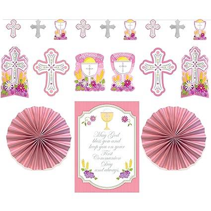 Kit decorativo para comunión niña