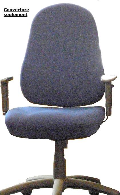 Funda para silla de oficina respaldo (solo)-47 x 57 cm, asiento ...