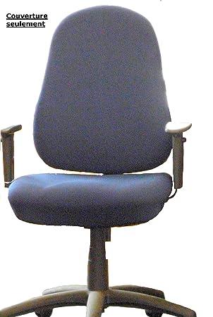 Funda para silla de oficina respaldo (solo)-47 x 57 cm, asiento: 47 ...