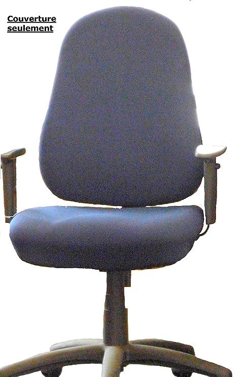 Funda para silla de oficina respaldo (solo)-47 x 57 cm, asiento