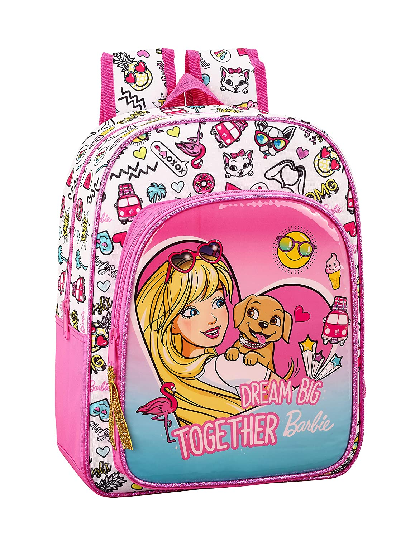 Barbie Celebration Oficial Mochila Escolar Infantil Animada 260x110x340mm: Amazon.es: Equipaje