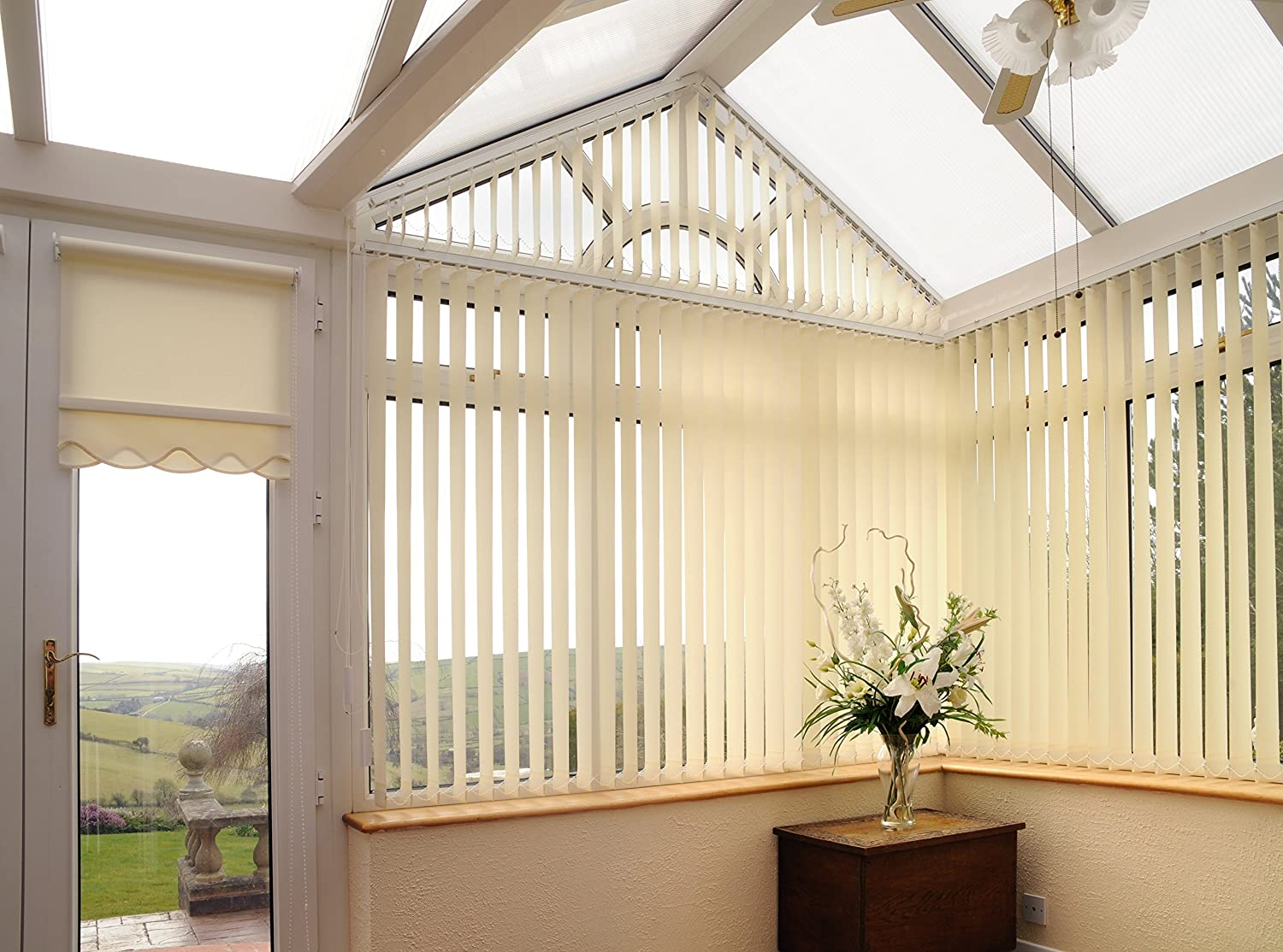 Complete Vertical Blinds FROM £18.Made to Measure 3.5