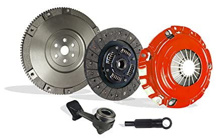 Clutch Kit Upgrade To Solid Flywheel Works With Ford Focus St Zx4 Lx Se Zts Ztw