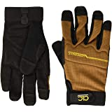 CLC Custom Leathercraft 124M Workright Flex Grip Work Gloves, Shrink Resistant, Improved Dexterity, Tough, Stretchable…