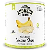Augason Farms Honey Coated Banana Slices 33 oz #10 Can