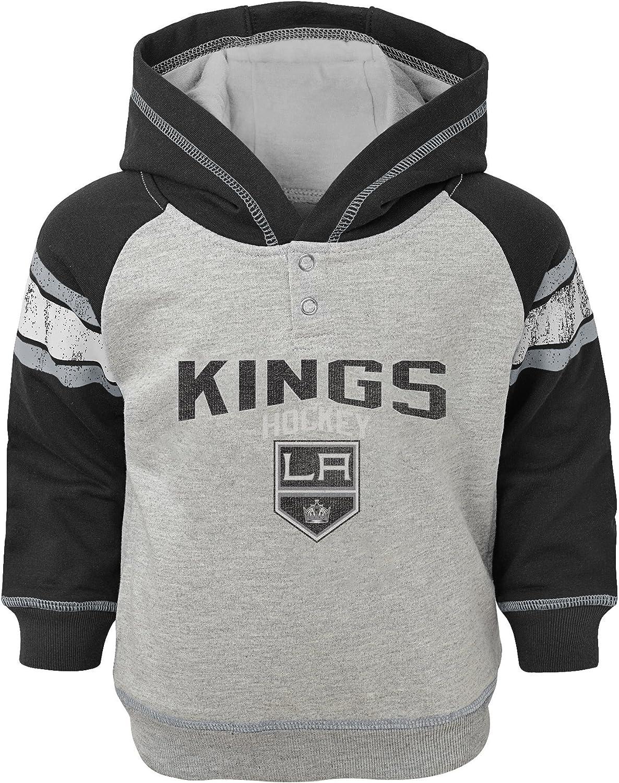 Outerstuff NHL Los Angeles Kings Children Unisex Hello Mascot Short Sleeve Tee 24 Months Black