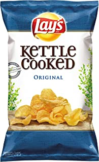 product image for Lay's Kettle Cooked Chips, Original, 32 Ounce (Pack of 4)