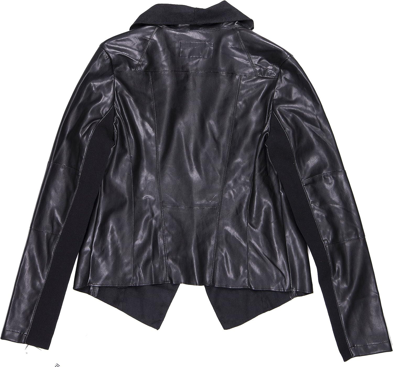 bar III Womens Flyaway Motorcycle Jacket