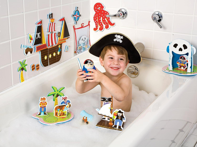 ALEX Toys Rub a Dub Pirates for the Tub pirate water toys