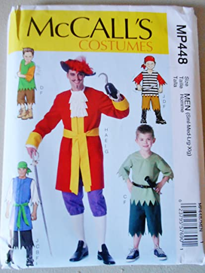 Amazon Mccalls Sewing Pattern Mp448 Mens Boys Halloween