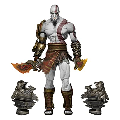 """NECA God of War 3 Ultimate Kratos Action Figure (7"""" Scale): Toys & Games"""