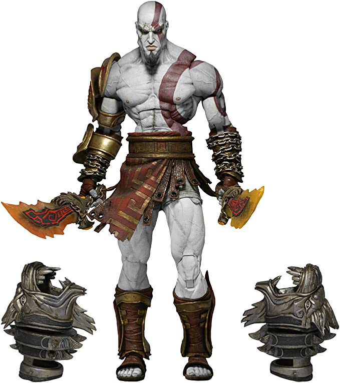 Neca God Of War 3 Ultimate Kratos Action Figure 7 Scale Figures Amazon Canada