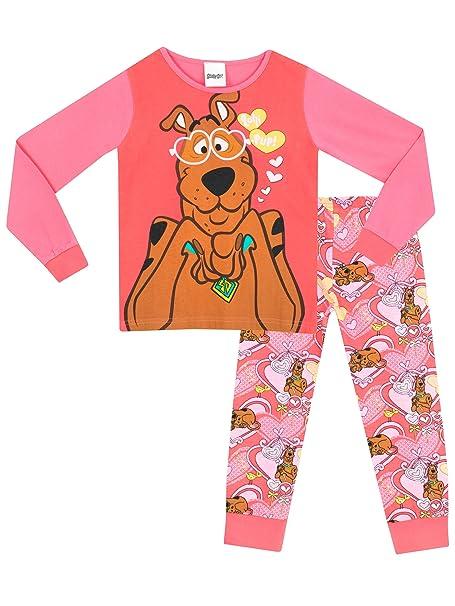 Scooby Doo - Pijama para niñas - Scooby Doo - 6 - 7 Años