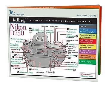 Amazon.com: Nikon zbc561 inbrief laminado tarjeta de ...