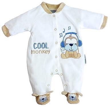 Nursery Time - Pelele - para bebé niño Blanco Weiß