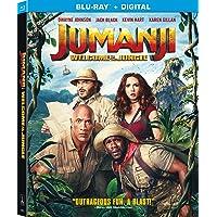 Jumanji Welcome to the Jungle on Blu-ray + Digital