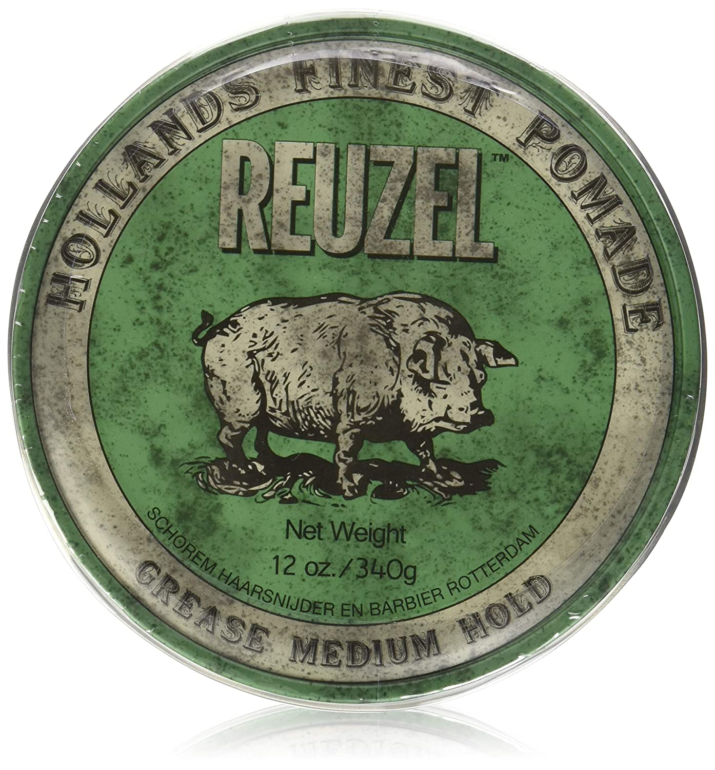 Reuzel green pomade-grease 12oz REU007