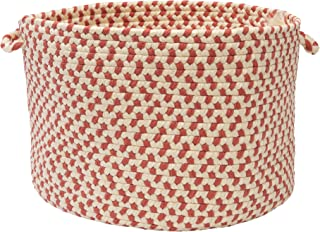 product image for Colonial Mills OU09 14 by 14 by 10-Inch Carousel Storage Basket, Sweet Pea