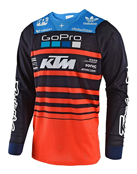 Amazon.com: Troy Lee Designs Mens Offroad Motocross Streamline SE Air Jersey (X-Large, Navy/Orange): Automotive