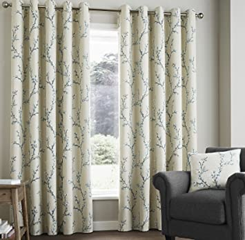 Curtains Ideas charcoal and cream curtains : Heath Fully Lined Curtains 66
