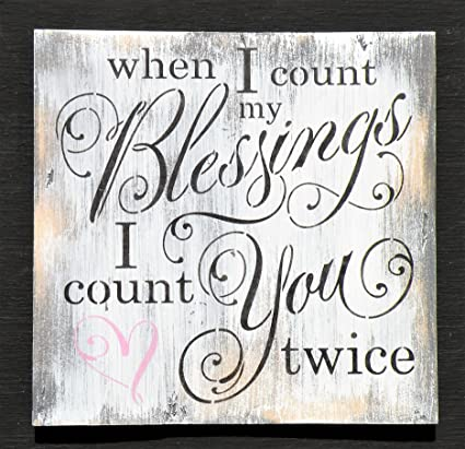 Amazoncom Olga212patrick When I Count My Blessings I Count You