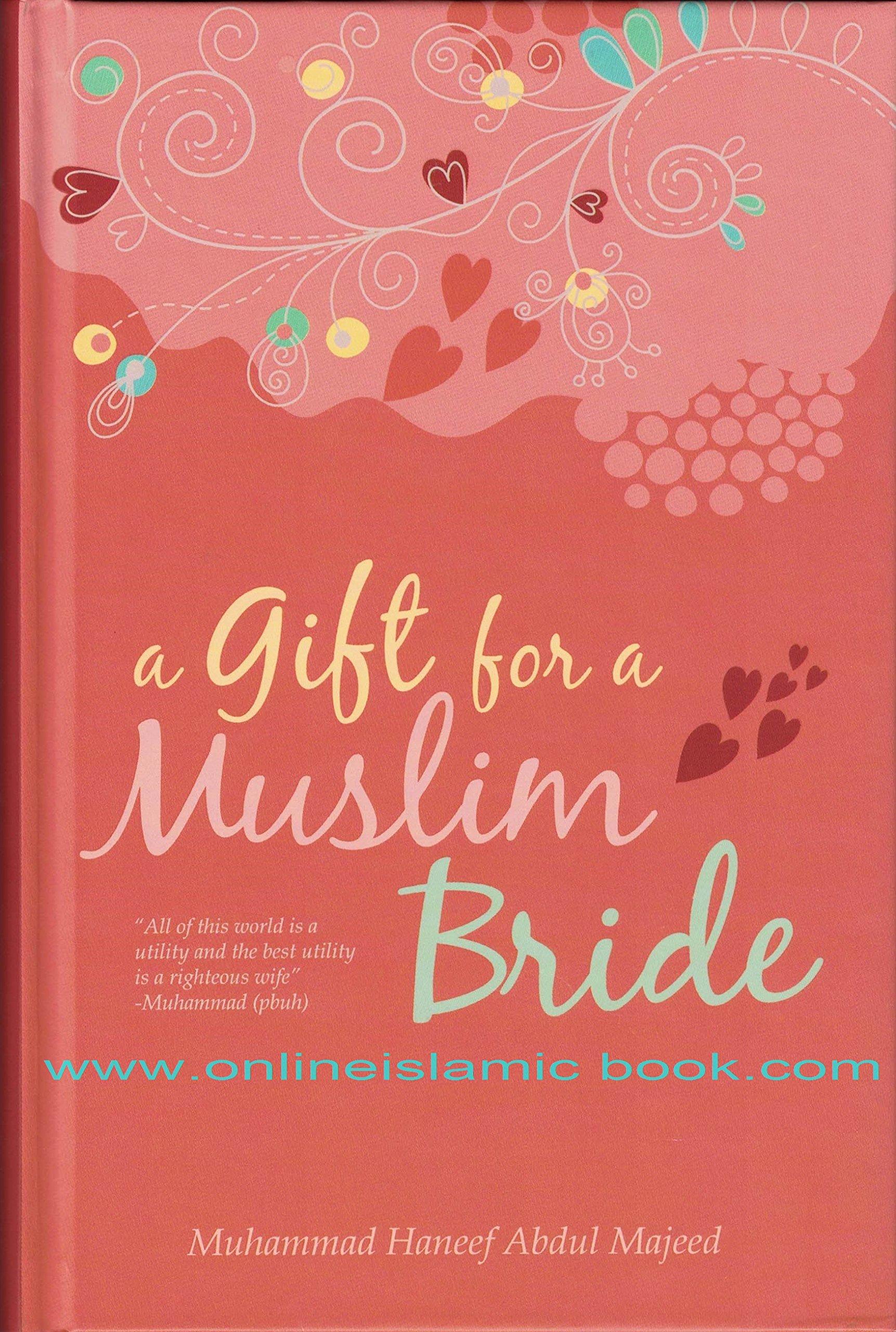 Aa Gift For Muslim Bride Amazon Muhammad Haneef Abdul Majeed