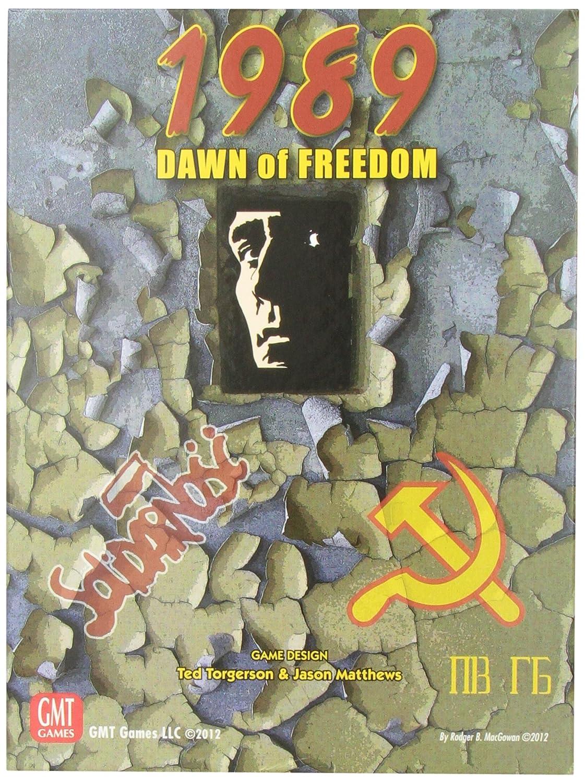 minorista de fitness 1989: Dawn Of Of Of Freedom - Juego de estrategia, 2 jugadores (GMT Games GMT1202) [Importado]  auténtico