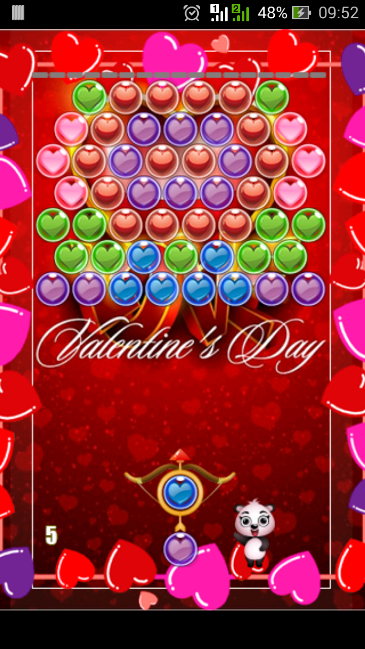 valentine panda pop appstore for android. Black Bedroom Furniture Sets. Home Design Ideas