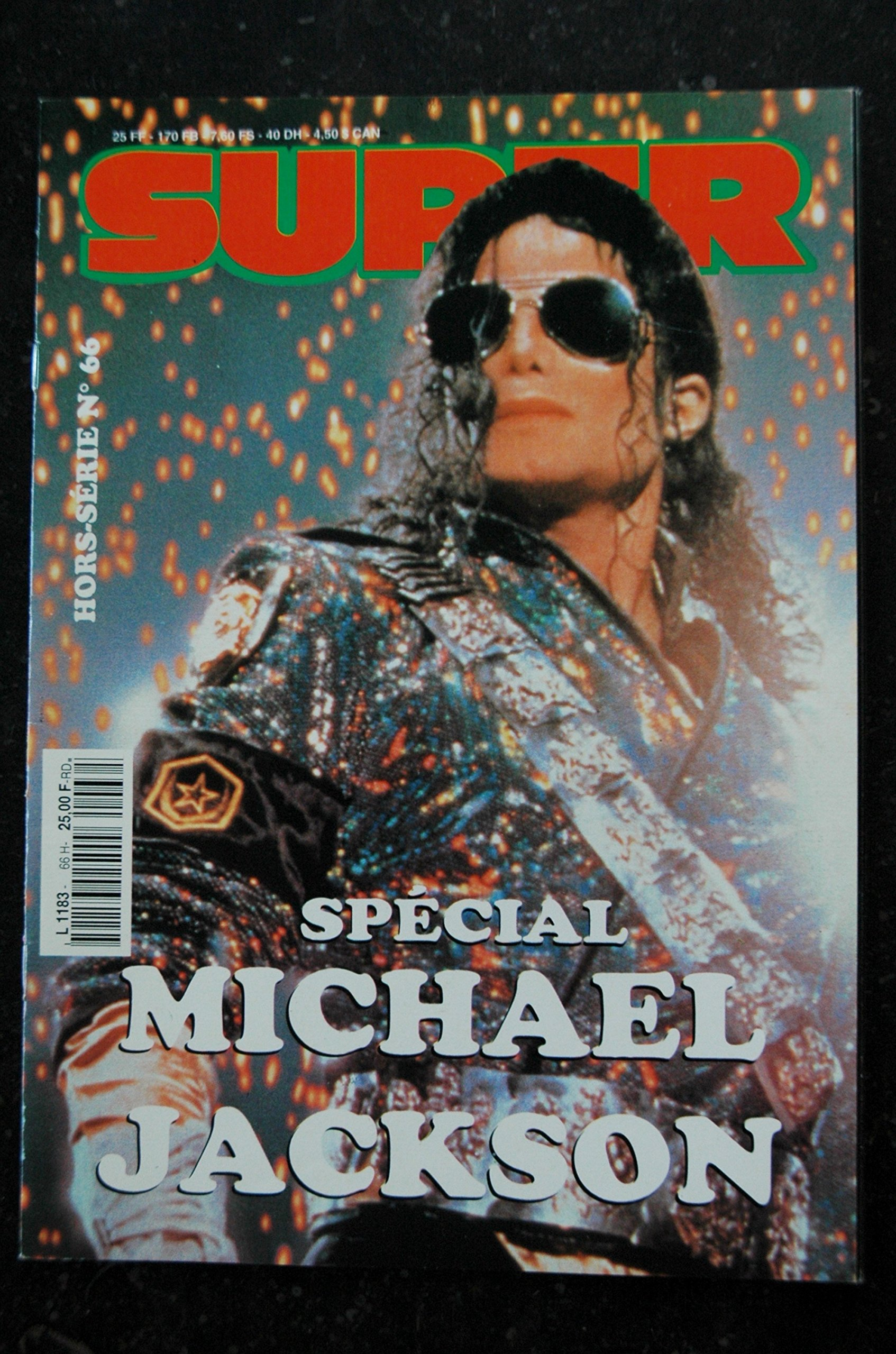 SUPER HS N° 66 MICHAEL JACKSON COVER 36 pages ebook
