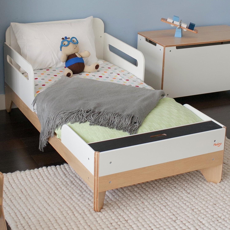 amazoncom  p'kolino little modern  toddler bed  baby -